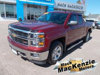 Used 2014 Chevrolet Silverado 1500 Z71 Double Cab 4X4 for sale in Renfrew, ON