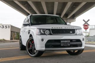 Used 2013 Land Rover Range Rover SPORT SUPERCHARGED for sale in Langley, BC