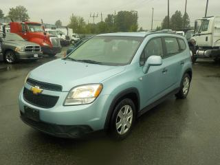 Used 2013 Chevrolet ORLANDO LS 3rd Row Seating for sale in Burnaby, BC