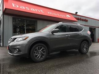 Used 2016 Nissan Rogue SL, 360° Camera, Panoramic Roof, Nav!! for sale in Surrey, BC