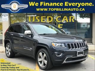 Used 2014 Jeep Grand Cherokee Limited, Navigation, Leather, Sunroof & more for sale in Concord, ON