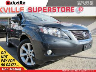 Used 2011 Lexus RX 350 LEATHER | SUNROOF | NAVI | B/U CAM | VENTED SEATS for sale in Oakville, ON