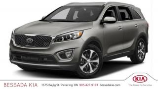 New 2018 Kia Sorento EX+ V6 for sale in Pickering, ON