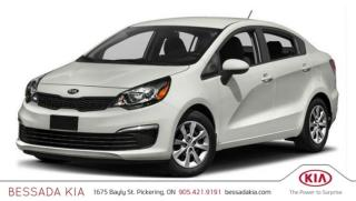 New 2017 Kia Rio EX Sunroof for sale in Pickering, ON