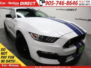 Used 2017 Ford Mustang Shelby GT350| LOW KM'S| 526 HP| RARE| for sale in Burlington, ON
