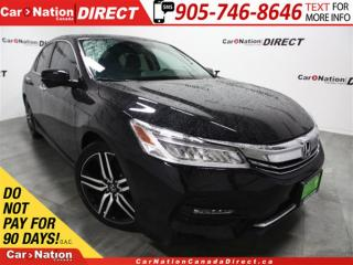 Used 2017 Honda Accord Touring| NAVI| LEATHER| SUNROOF| for sale in Burlington, ON