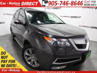 Used 2011 Acura MDX Elite Package| NAVI| DVD| SUNROOF| AWD| for sale in Burlington, ON