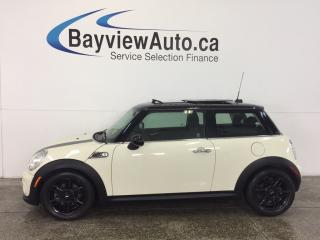 Used 2013 MINI Cooper BAKER STREET-PANOROOF! HTD SEATS! CRUISE! A/C! for sale in Belleville, ON