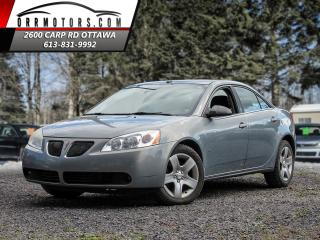 Used 2008 Pontiac G6 SEDAN for sale in Stittsville, ON