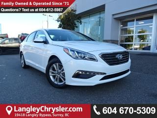 Used 2017 Hyundai Sonata GL *ACCIDENT FREE * DEALER INSPECTED * CERTIFIED * for sale in Surrey, BC