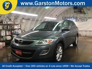 Used 2011 Mazda CX-9 GT*AWD*NAVIGATION*LEATHER*7 PASSENGER*BACK UP CAMERA*REAR DVD PLAYER w/WIRELESS HEAD PHONES*PHONE CONNECT*POWER HEATED FRONT SEATS*POWER REAR LIFT GAT for sale in Cambridge, ON