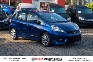 Used 2014 Honda Fit SPORT 5MT for sale in Vancouver, BC