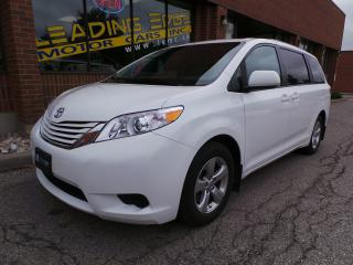 Used 2017 Toyota Sienna LE 8 Passenger Power doors, Full Warranty for sale in Woodbridge, ON