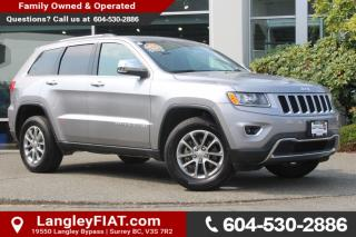 Used 2016 Jeep Grand Cherokee Limited LOW KM'S! NO ACCIDENTS for sale in Surrey, BC