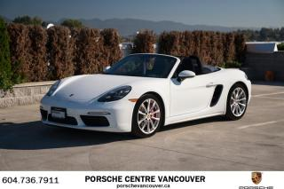 Used 2017 Porsche Boxster 718 S PDK for sale in Vancouver, BC