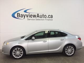 Used 2014 Buick Verano - ALLOYS|REM STRT|REV CAM|ON STAR|CRUISE! for sale in Belleville, ON