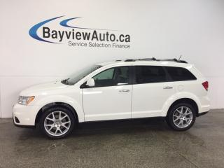 Used 2017 Dodge Journey GT - REM START! HEATED LEATHER! CRUISE! 7 RIDER! for sale in Belleville, ON
