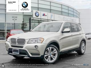 Used 2014 BMW X3 xDrive35i AWD/PREMIUM PACKAGE/NAV PACKAGE for sale in Oakville, ON