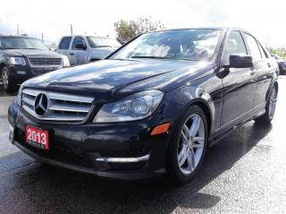 Used 2013 Mercedes-Benz C-Class 4MATIC AWD. $144.56 BI WEEKLY! $0 DOWN! CERTIFIED! for sale in Bolton, ON