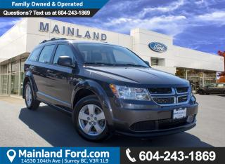 Used 2016 Dodge Journey CVP/SE Plus NO ACCIDENTS, LOW KMS, LOCAL for sale in Surrey, BC