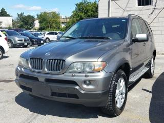 Used 2005 BMW X5 3.0i/NO ACCIDENT/ONE OWNER for sale in Scarborough, ON