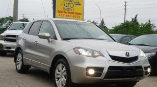 Used 2012 Acura RDX Tech Pkg, AWD, Navi, Rear Camera, Leather, Sunroof for sale in North York, ON