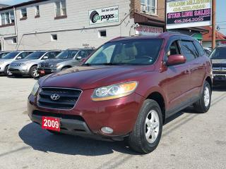 Used 2009 Hyundai Santa Fe GLS/Leather /sunroof/4WD for sale in Scarborough, ON