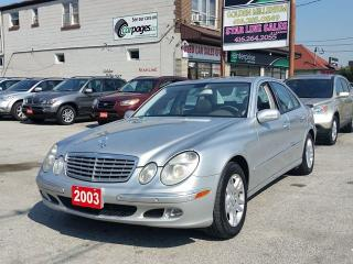 Used 2003 Mercedes-Benz E320 MINT CONDITION for sale in Scarborough, ON