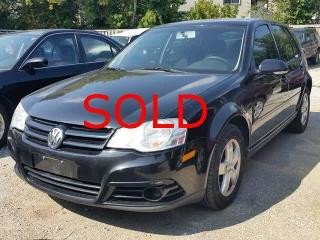 Used 2008 Volkswagen City Golf >>  SOLD >>> for sale in Scarborough, ON