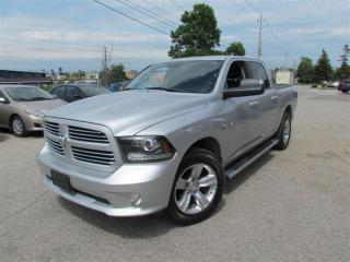 Used 2013 Dodge Ram 1500 Sport Crew Cab 4x4 Loaded for sale in North York, ON
