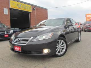 Used 2011 Lexus ES 350 Navigation, Rear Camera, Leather, Sunroof for sale in North York, ON