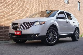 Used 2011 Lincoln MKX AWD, Navi, Rear Camera, DVD, Pano Sunroof for sale in North York, ON
