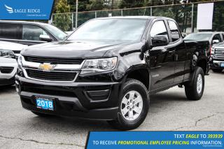 New 2018 Chevrolet Colorado WT Bluetooth and Backup Camera for sale in Port Coquitlam, BC