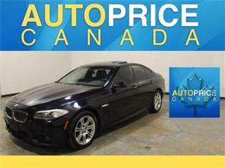 Used 2013 BMW 5 Series X-DRIVE M-SPORT NAVI LANE DEPARTURE for sale in Mississauga, ON