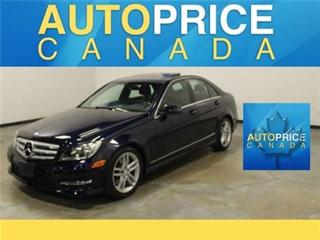 Used 2013 Mercedes-Benz C-Class C300 NAVIGATION LEATHER for sale in Mississauga, ON