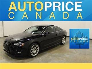 Used 2015 Audi A5 2.0T S-LINE PANOROOF AND MORE for sale in Mississauga, ON