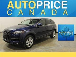 Used 2013 Audi Q7 3.0T PANOROOF 7PASS REAR CAM for sale in Mississauga, ON