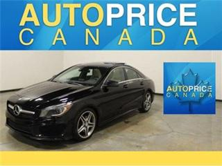 Used 2014 Mercedes-Benz CLA-Class NAVI 4MATIC PANOROOF REAR CAM for sale in Mississauga, ON