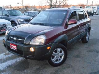 Used 2008 Hyundai Tucson LIMITED, 4WD, SUNROOF, LEATHER, POWER GROUP, ... for sale in North York, ON