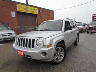 Used 2008 Jeep Patriot Sport, Alloy Wheels, Heated Seat for sale in North York, ON