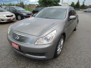 Used 2007 Infiniti G35 G35X, 3.5L, 4WD, SUNROOF, LEATHER, POWER GROU... for sale in North York, ON