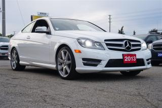 Used 2013 Mercedes-Benz C-Class 350, Coupe, 4 Matic, Navi, Pano Sunroof for sale in North York, ON