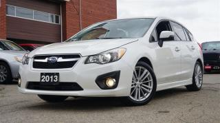Used 2013 Subaru Impreza 2.0i w/Limited Pkg, Low KMs, AWD, Navi, Rear Came. for sale in North York, ON