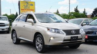 Used 2013 Lexus RX 350 AWD, Navi, Rear Camera, Leather, Sunroof for sale in North York, ON