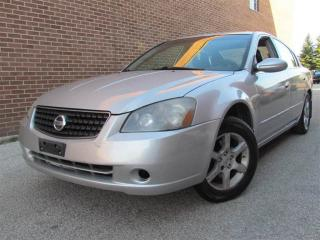 Used 2005 Nissan Altima 2.5 SL, Leather, Sunroof, Alloy Wheels for sale in North York, ON