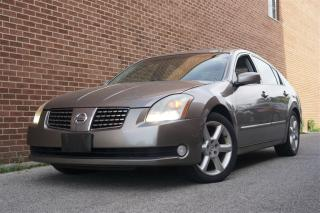 Used 2004 Nissan Maxima SE, Leather, Sunroof, Alloy, Heated Seat for sale in North York, ON