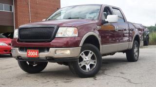 Used 2004 Ford F-150 XLT Lariat, Leather, Sunroof, Alloy, Heated Seat, for sale in North York, ON