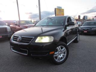 Used 2004 Volkswagen Touareg 4x4, Navigation, Rear Camera, Leather, Sunroof, Al for sale in North York, ON
