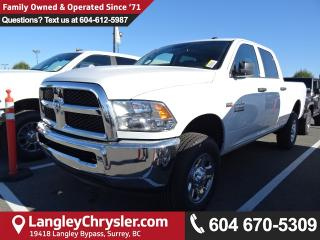 New 2018 Dodge Ram 2500 ST SXT Appearance Group for sale in Surrey, BC