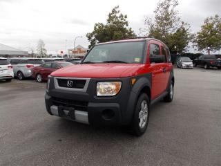 Used 2005 Honda Element Y-Package for sale in Quesnel, BC